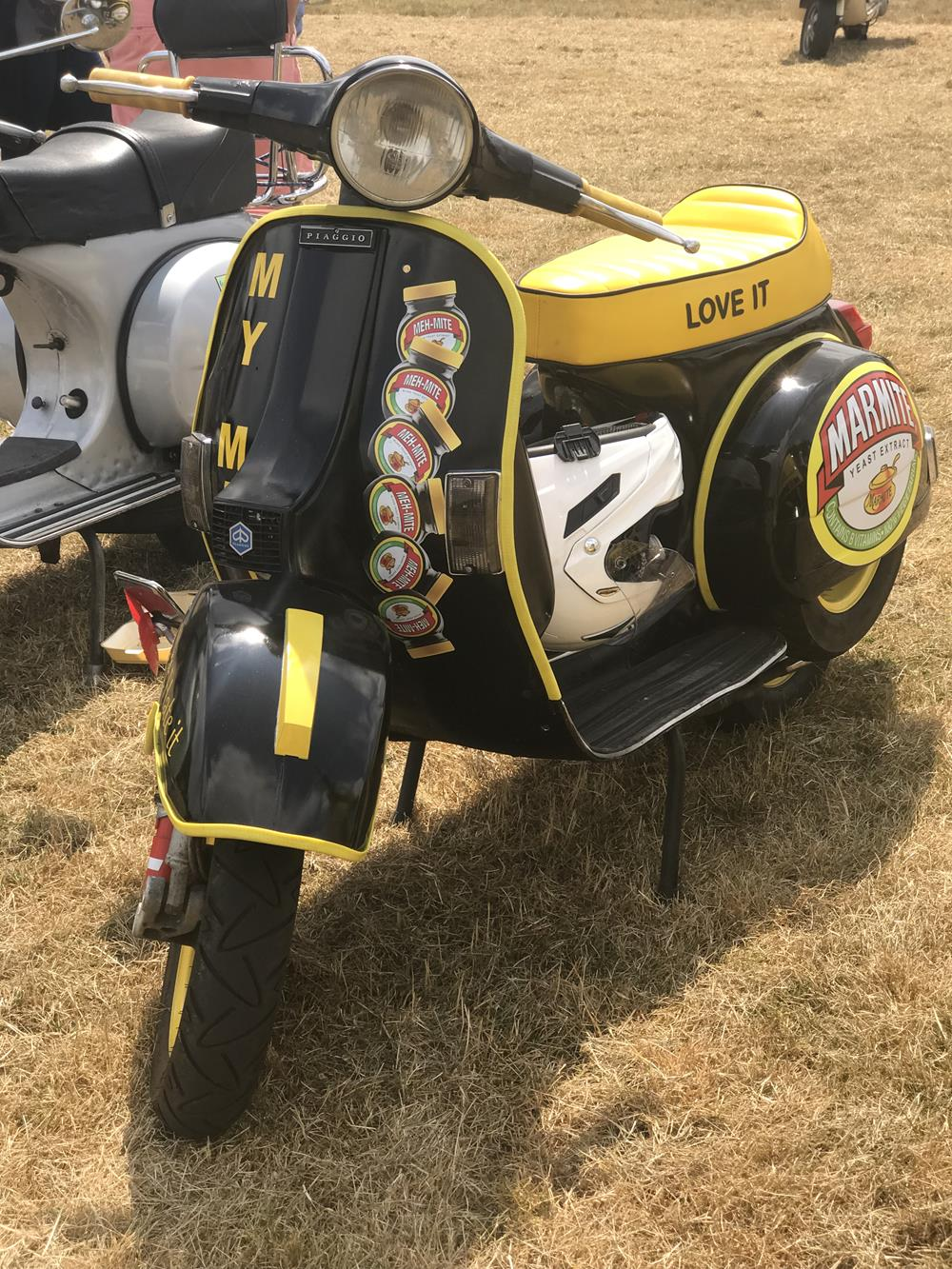 Vespa PX with Marmite theme and murals
