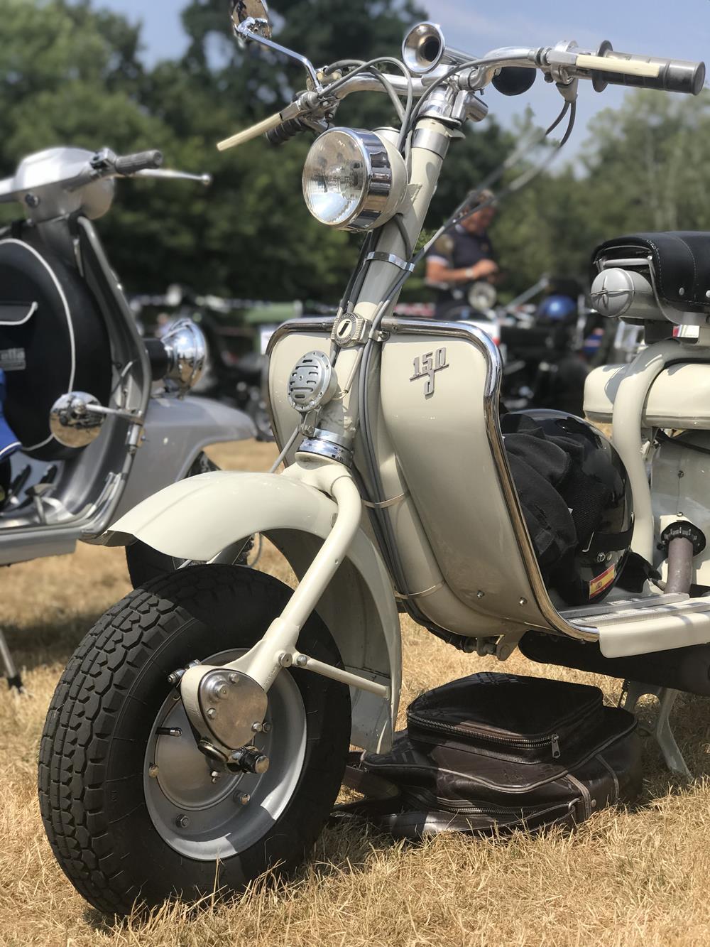 Vintage Model D scooter