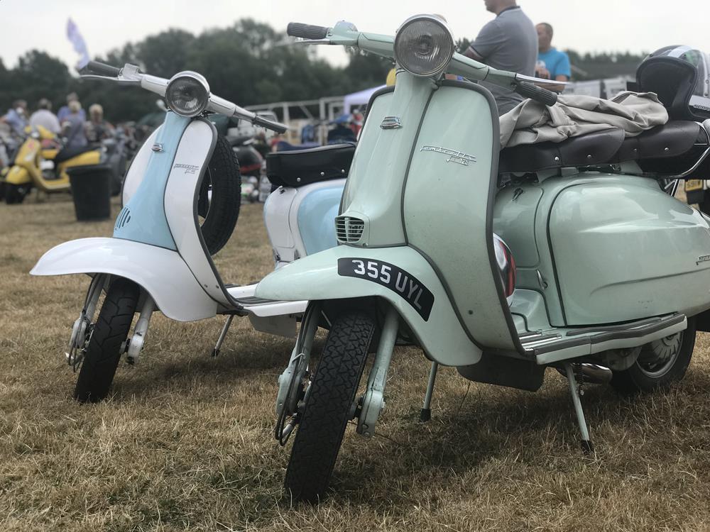 Two LI Lambrettas