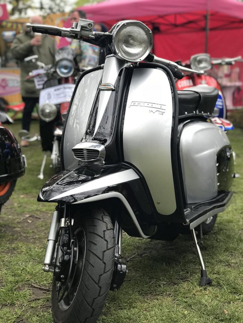 Front view of Lambretta TV175