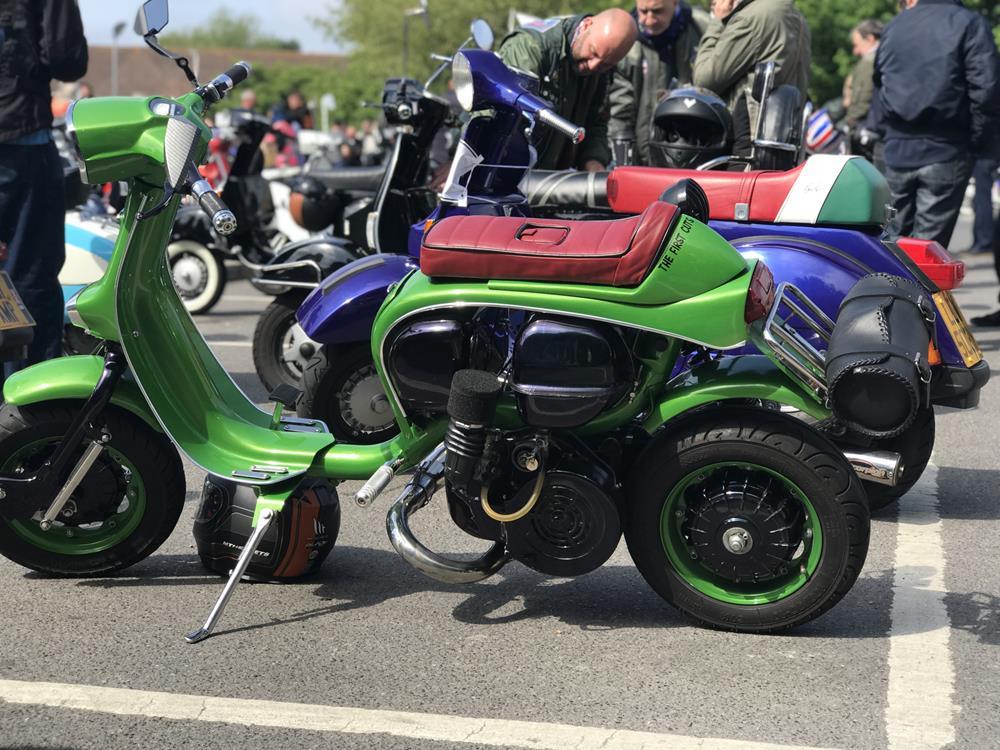 Lambretta cutdown scooter