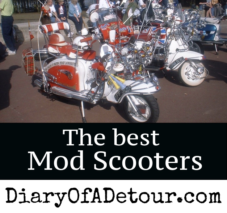 Mod Scooters 60s Style Vintage Vespa And Lambretta Scooters