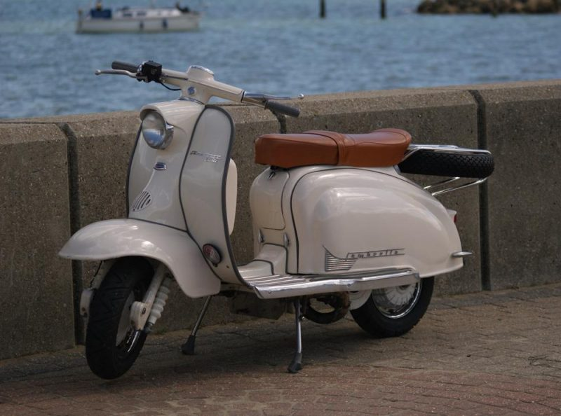 Series 1 Lambretta on Ryde seafront